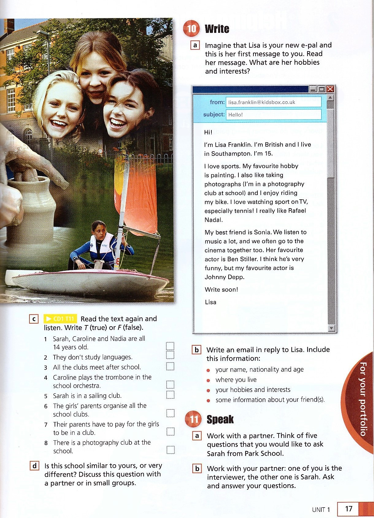 Изображение English in Mind (Second Edition) 1 Student's Book + DVD-ROM страница 8